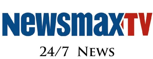 Newsmax TV logo 24/7 news